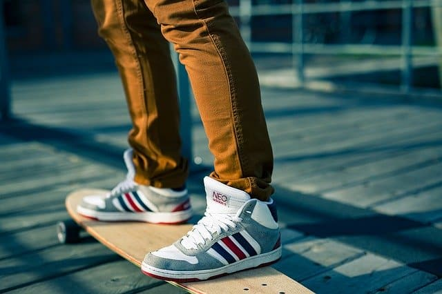 Adidas Skate Shoes for the fitness training